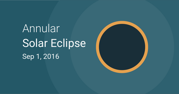 Annular Solar Eclipse in Mauritius
